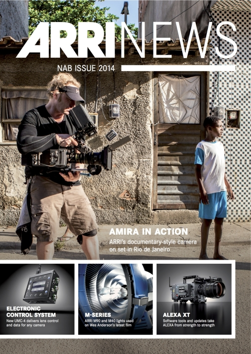 ARRI News April 2014 portada